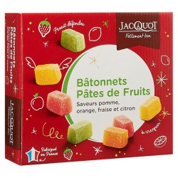 PÂTES DE FRUITS EN PALETS ASSORTIS JACQUOT 1 KG