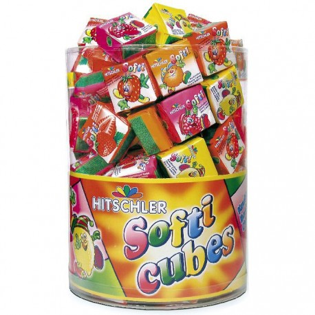 SOFTI CUBES AUX FRUITS