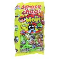 Sucette Space Chupi émoji fruits et cola