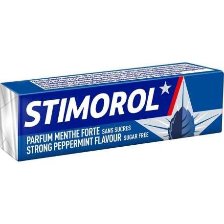 Chewing Gum Stimorol menthe forte sans sucre