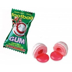 Ballon football bubble gum - Fini