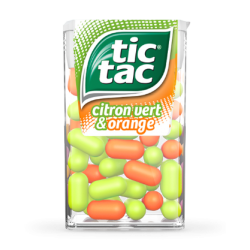 Tic Tac Duo (orange citron)