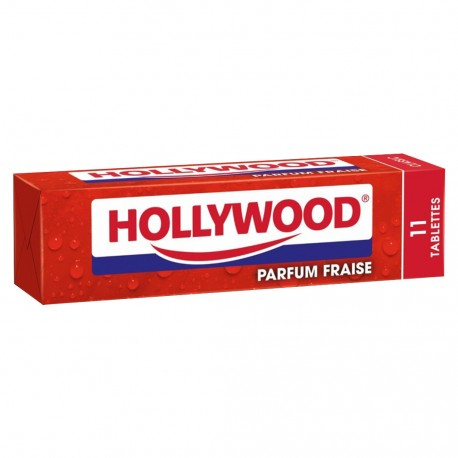 HOLLYWOOD TABLETTE FRAISE