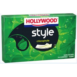 Hollywood style chlorophylle
