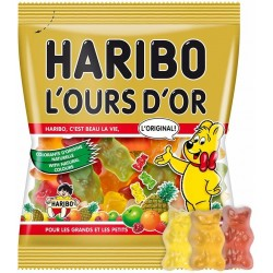 Ours d'or - Haribo - sachet 40g