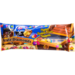 Bubble gum Pirates Diamonds - Sachet 35g