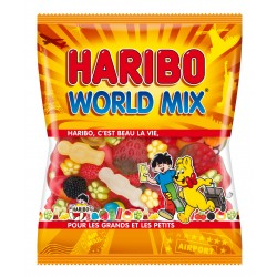 Bonbon Haribo World Mix - sachet 120g