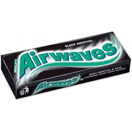 Chewing gum sans sucre Airwaves menthol