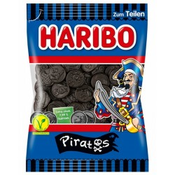 Réglisses pirates - Haribo - sachet 200g