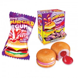 Burger bubble gum